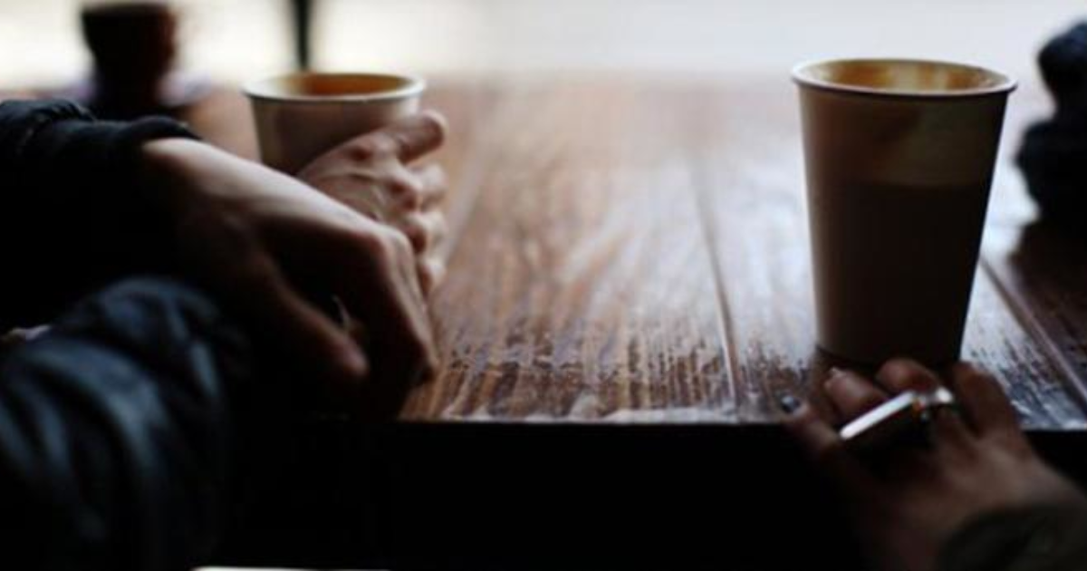 встретимся чашечкой первый вопрос за кофе незнакомки