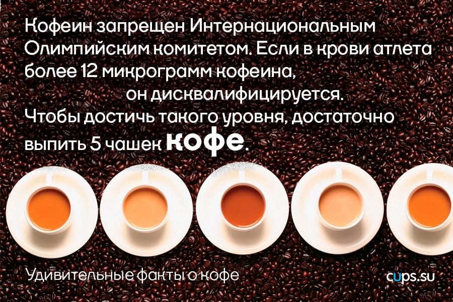 Достаточно выпить 5 чашек кофе